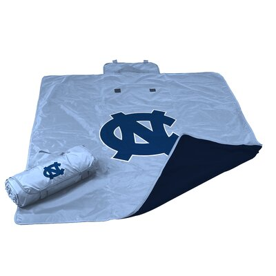 NCAA North Carolina All Weather Fleece Blanket