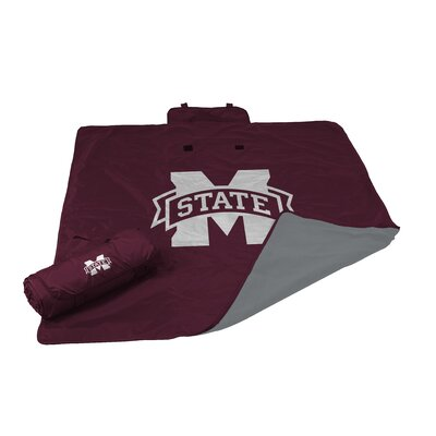 NCAA Mississippi State All Weather Fleece Blanket