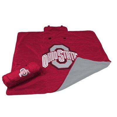 NCAA Ohio State All Weather Fleece Blanket