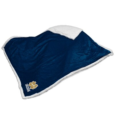 NCAA Notre Dame Sherpa Throw