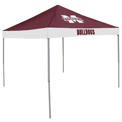 NCAA Economy 9' H x 9' W x 9' D Tent NCAA Team: Mississippi State