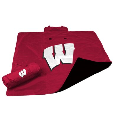 NCAA Wisconsin All Weather Fleece Blanket