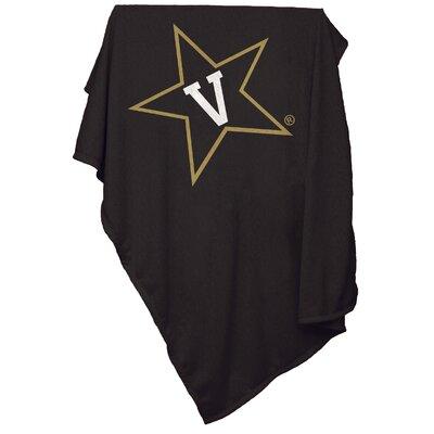 NCAA Vanderbilt University Sweatshirt Blanket