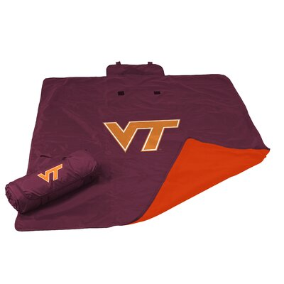 NCAA Virginia Tech All Weather Fleece Blanket