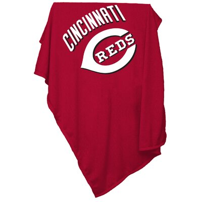 Logo Chairs MLB Cincinnati Reds Sweatshirt Polyester Blanket