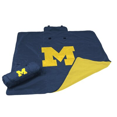 NCAA Michigan All Weather Fleece Blanket