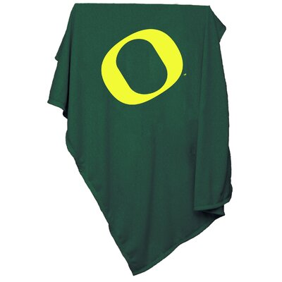 NCAA University of Oregon Sweatshirt Blanket