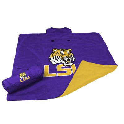 NCAA LSU All Weather Fleece Blanket