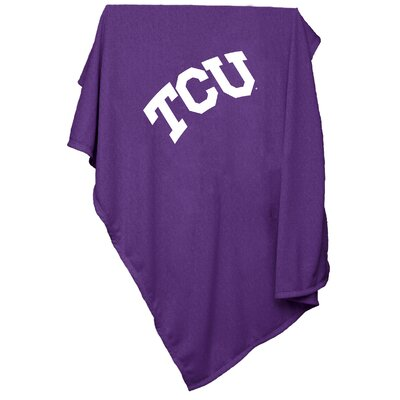 NCAA Texas Christian University Sweatshirt Blanket