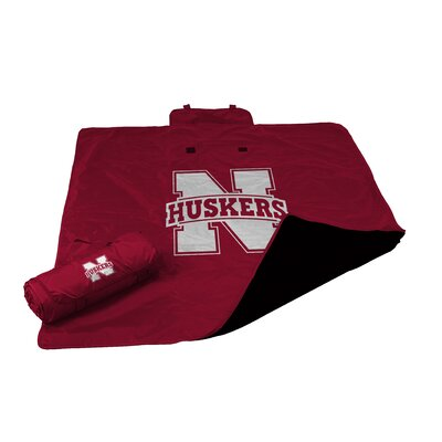 NCAA Nebraska All Weather Fleece Blanket