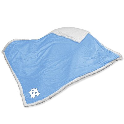 NCAA North Carolina Sherpa Throw