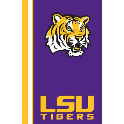 Collegiate Ultrasoft Blanket NCAA Team: LSU