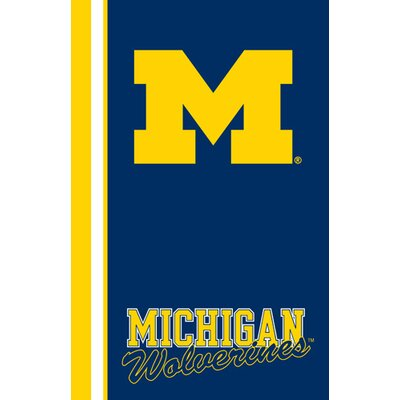 Collegiate Ultrasoft Blanket NCAA Team: Michigan
