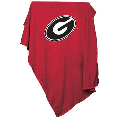 NCAA Sweatshirt Blanket NCAA Team: Georgia