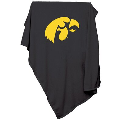 Collegiate Sweatshirt Blanket - Iowa