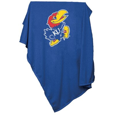 Collegiate Sweatshirt Blanket - Kansas