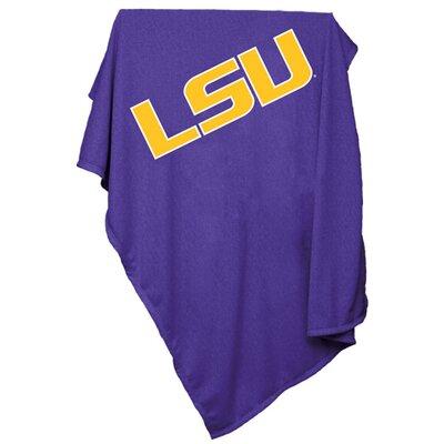 NCAA Sweatshirt Blanket NCAA Team: LSU