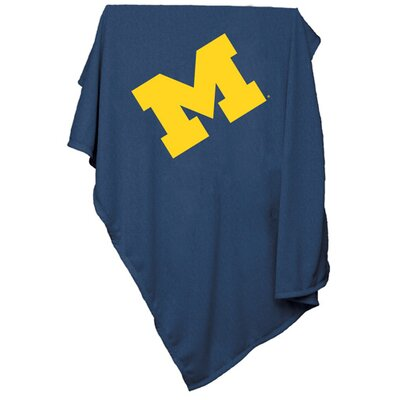 NCAA Sweatshirt Blanket NCAA Team: Michigan