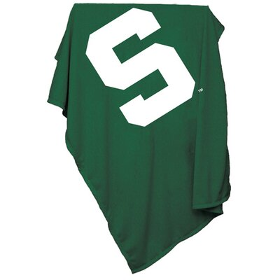 Collegiate Sweatshirt Blanket - Michigan State