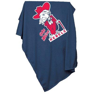 NCAA Sweatshirt Blanket NCAA Team: Ole Miss