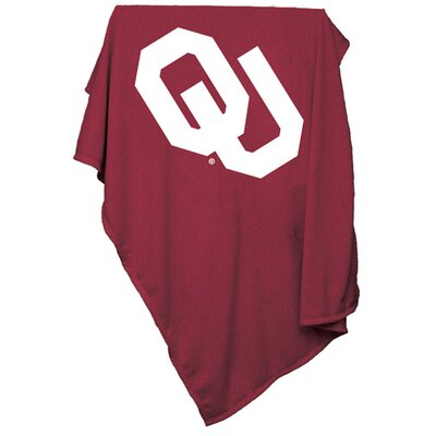 NCAA Sweatshirt Blanket NCAA Team: Oklahoma