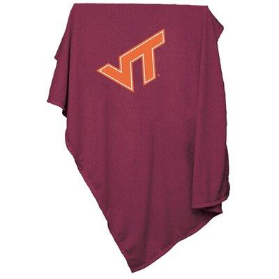 NCAA Sweatshirt Blanket NCAA Team: Virginia Tech