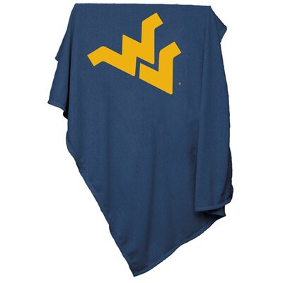 NCAA Sweatshirt Blanket NCAA Team: West Virginia