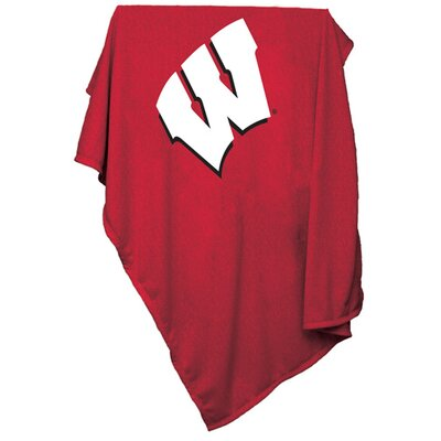 NCAA Sweatshirt Blanket NCAA Team: Wisconsin
