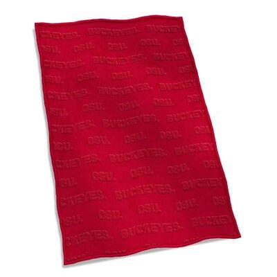 NCAA Velvet Plush Blanket NCAA Team: Ohio State University