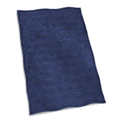 NCAA Velvet Plush Blanket NCAA Team: University of Mississippi