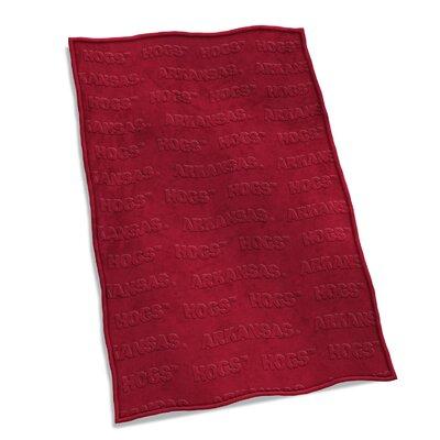 NCAA Velvet Plush Blanket NCAA Team: University of Arkansas
