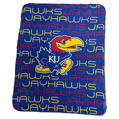 NCAA Classic Fleece Blanket NCAA: Kansas Jayhawks