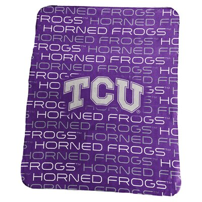 NCAA Classic Fleece Blanket NCAA: TCU Horned Frogs