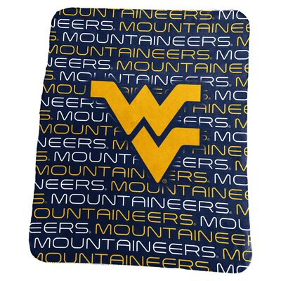 NCAA Classic Fleece Blanket NCAA: West Virginia Mountaineers