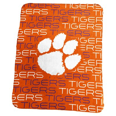 NCAA Classic Fleece Blanket NCAA: Clemson Tigers