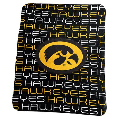 NCAA Classic Fleece Blanket NCAA: Iowa Hawkeyes