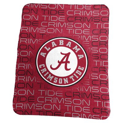 NCAA Classic Fleece Blanket NCAA: Alabama Crimson Tide