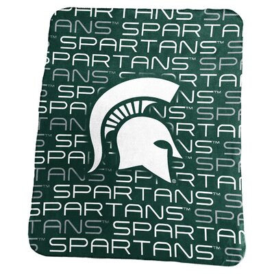 NCAA Classic Fleece Blanket NCAA: Michigan State Spartans