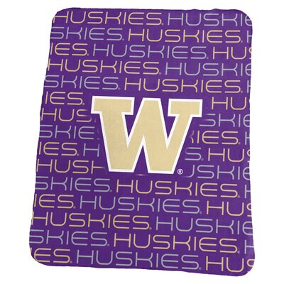 NCAA Classic Fleece Blanket NCAA: Washington Huskies