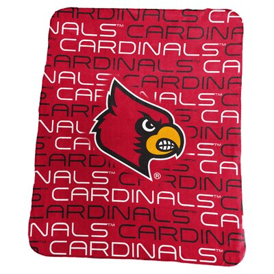 NCAA Classic Fleece Blanket NCAA: Louisville Cardinals