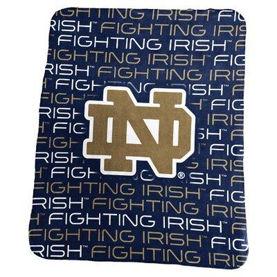 NCAA Classic Fleece Blanket NCAA: Notre Dame Fighting Irish