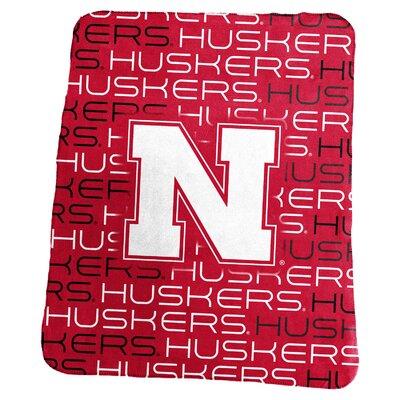 NCAA Classic Fleece Blanket NCAA: Nebraska Cornhuskers