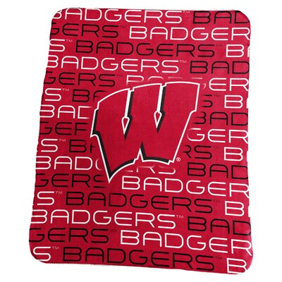 NCAA Classic Fleece Blanket NCAA: Wisconsin Badgers