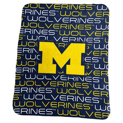 NCAA Classic Fleece Blanket NCAA: Michigan Wolverines