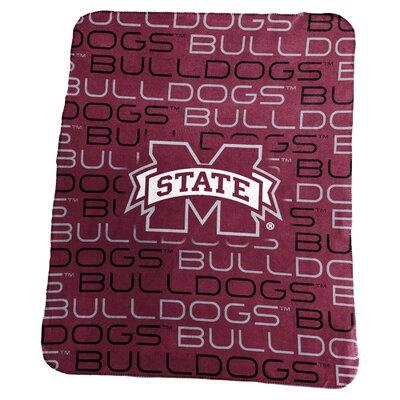 NCAA Classic Fleece Blanket NCAA: Mississippi State Bulldogs