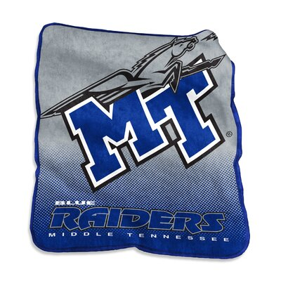 NCAA Raschel Throw NCAA: Middle Tennessee Blue Raiders