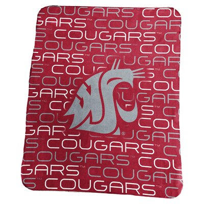 NCAA Classic Fleece Blanket NCAA: Washington State Cougars football