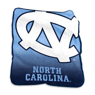 NCAA Raschel Throw NCAA: North Carolina