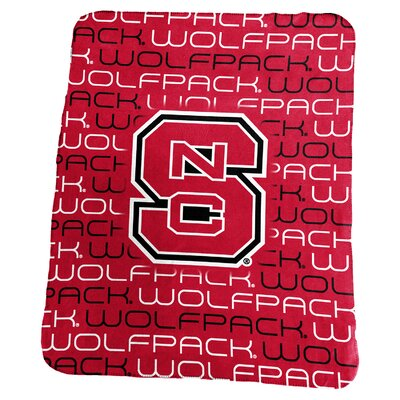 NCAA Classic Fleece Blanket NCAA: North Carolina State Wolfpack