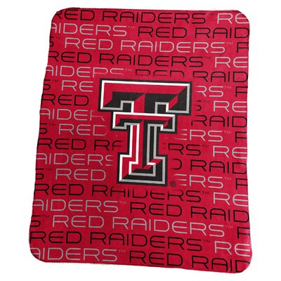 NCAA Classic Fleece Blanket NCAA: Texas Tech Red Raiders